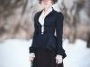 Модель в роли Анны Карениной: Анна; Фото: Маргарита Карева; Макияж, прическа: Gleamnight; Шляпка, зонт, жакет, юбки: Gleamnight fashion-studio.