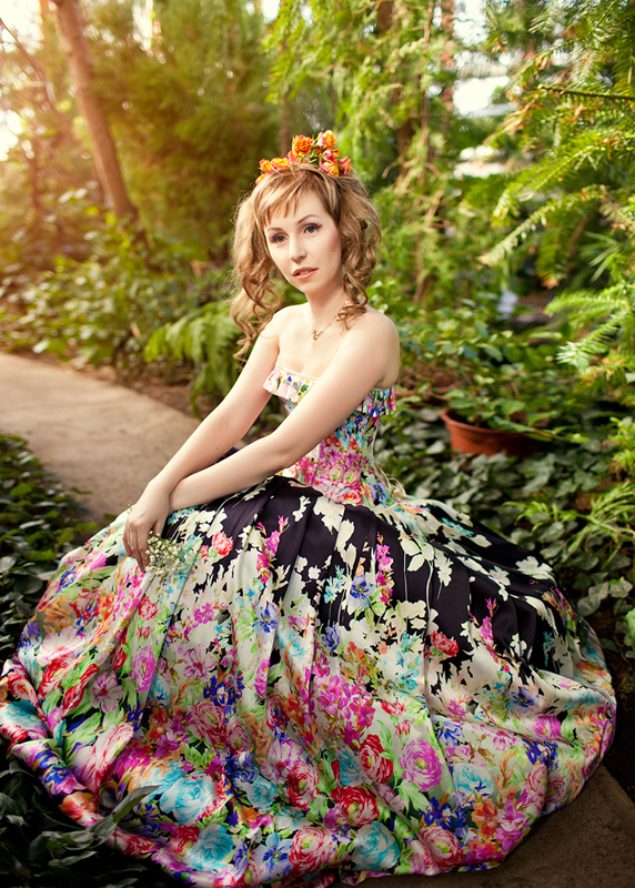 Модель: Анна, Фото: Маргарита Карева, Макияж, прическа: Gleamnight, Одежда: Gleamnight fashion-studio
