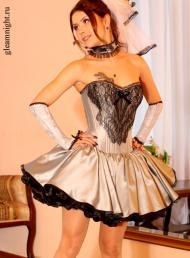 Свадебное платье в стиле Готик Лолита Эксклюзив
