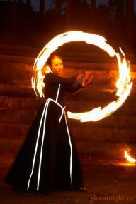 Платье для fire-show