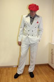 Гангстерский костюм в полоску