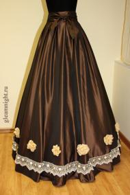 Бальная юбка Историческая стилизация