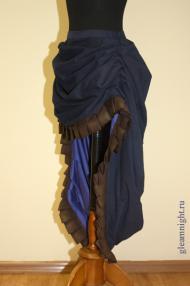 Декоративная юбка Стимпанк