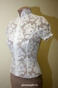 Свадебная кружевная блузка
