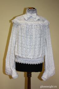 Хлопковая блузка Реконструкция