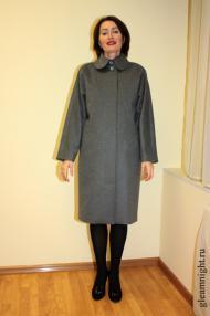 Пальто с рукавом-реглан