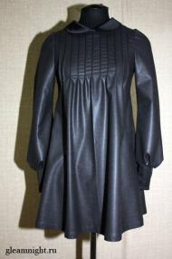 Шерстяное мини-платье