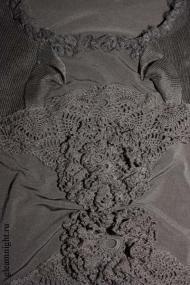 Трикотажное платье Эксклюзив