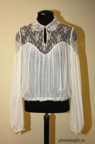 Шелковая блузка Эксклюзив