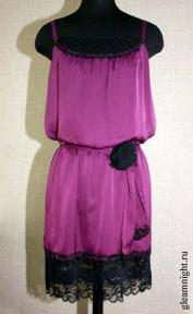 Шифоновое платье Эксклюзив