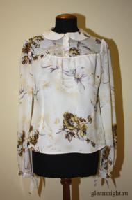 Нежная ретро-блузка