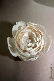 Цветок из льна