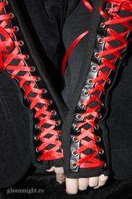 Перчатки со шнуровкой