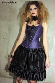Вечерний готический костюм