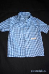 Рубашка в клеточку