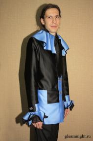 Удлиненный пиджак + Жилет