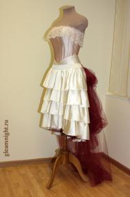 Свадебное платье в пиратском стиле Комплект