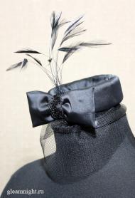 Атласная шляпка