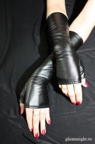 Перчатки из кож. зам.