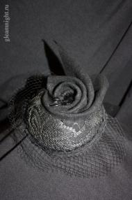 Вечерняя шляпка Эксклюзив