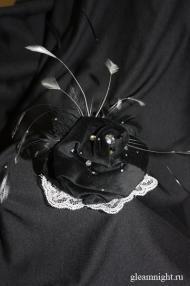 Бархатная шляпка