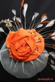 Вельветовая шляпка