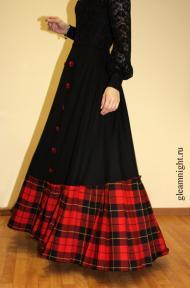 Историческая юбка Реконструкция