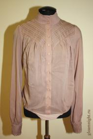 Батистовая блузка-комбидресс