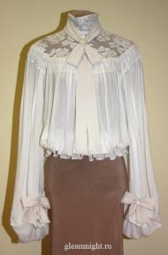 Батистовая блузка Реконструкция
