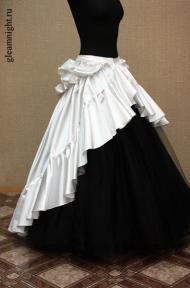 Свадебная юбка-шлейф