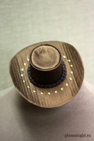 Ковбойская мини-шляпа