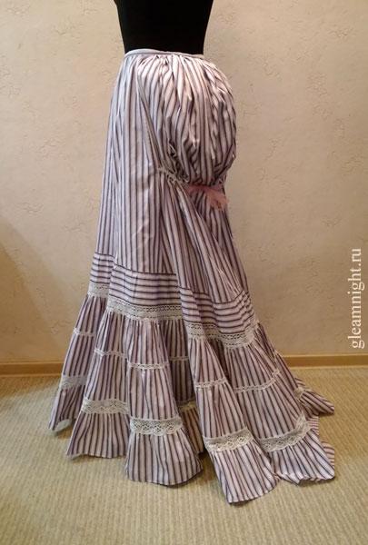 Нижняя юбка для турнюра